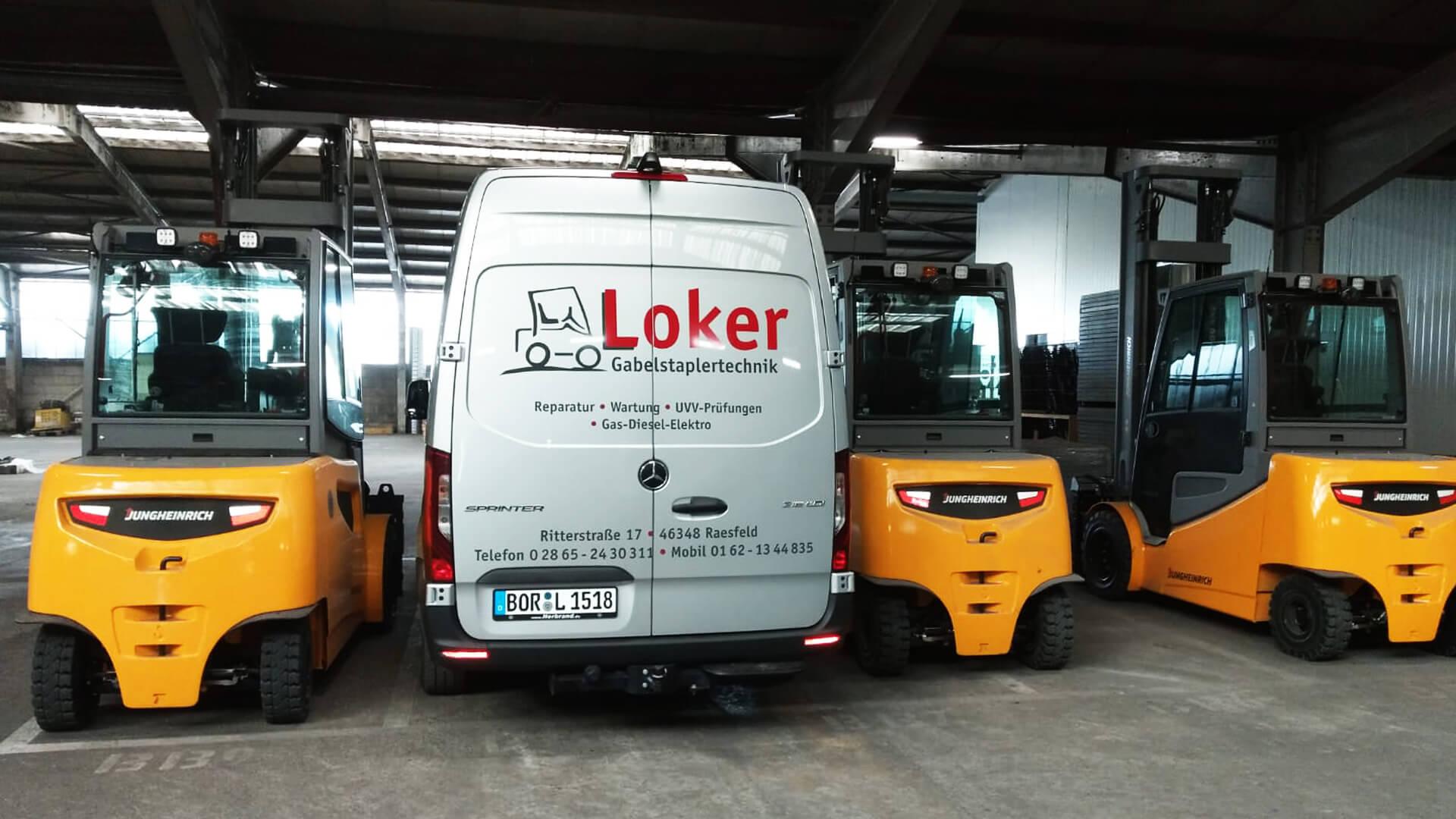 Gabelstaplertechnik Loker Raesfeld